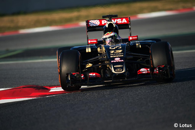 Pastor Maldonado - Lotus - Test Pretemporada 2015 - Día 1 - Barcelona