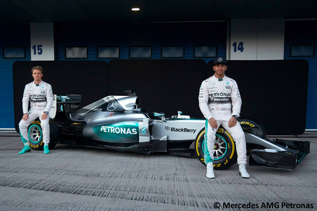 Presentación Mercedes AMG - F1 W05