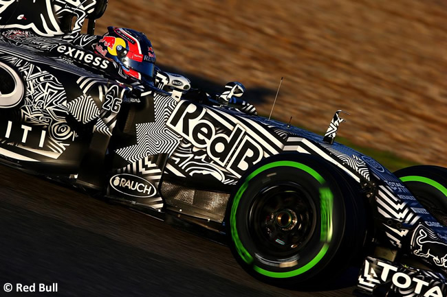 Red Bull Racing - Daniil Kvyat - RB11 - Día 4 - Test Jerez