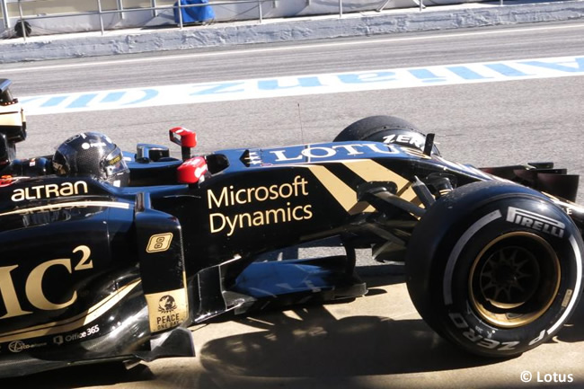 Romain Grosjean - Lotus - Test Barcelona Pretemporada 2015 - Día 4