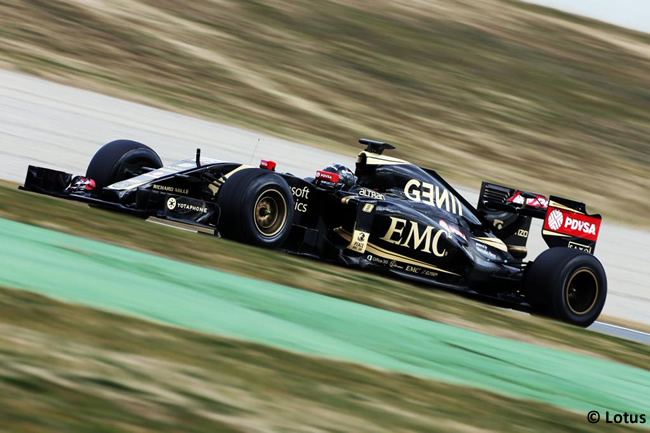 Romain Grosjean - Lotus - Día 1 - Test Barcelona 2 - Pretemporada 2015 - F1