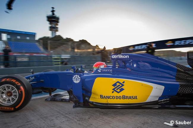 Sauber - Felipe Nasr - C34 - 2015 - Test Pretemporada 2015