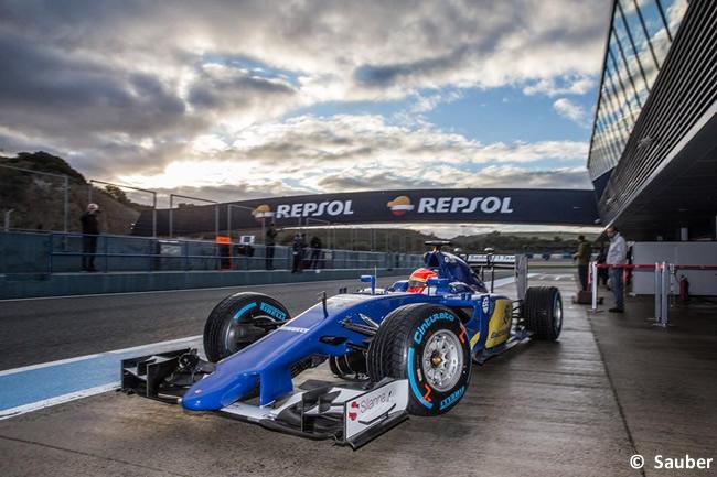 Sauber - Felipe Nasr - C34 - 2015 - Test Jerez - Día 3