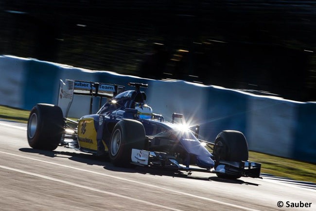 Sauber - Marcus Ericsson - C34-  Día 4 - Test Jerez - Pretemporada 2015