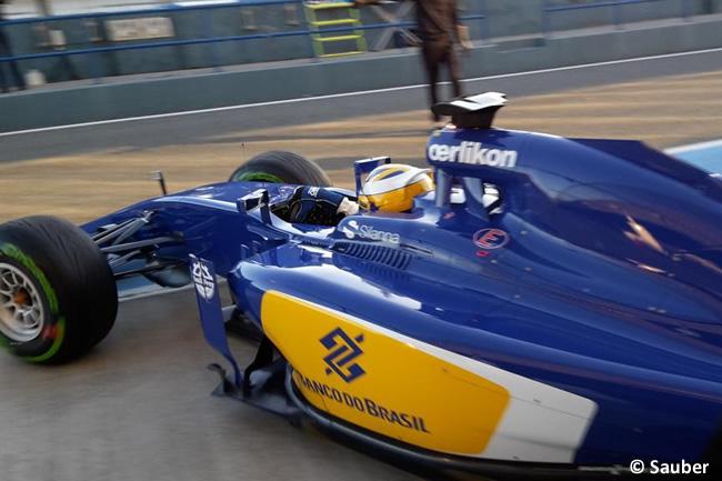 Marcus Ericsson - Sauber - F1 - C34 - Test Jerez - Día 1