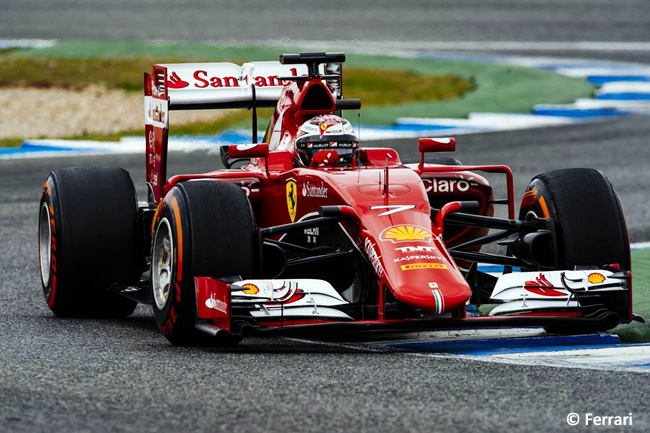 Scuderia Ferrari - Kimi Raikkonen - SF15-T  - Test - Jerez - 2015