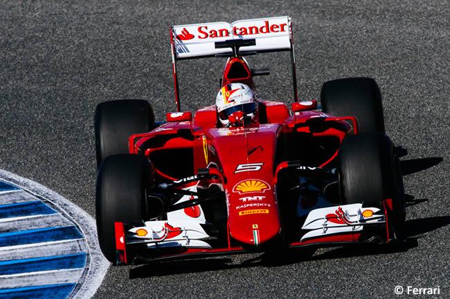 Scuderia Ferrari - SF15-T - Sebastian Vettel - Día 1 - Test Jerez