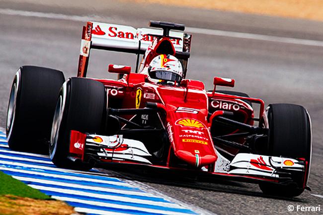 Scuderia Ferrari - Sebastian Vettel - Test Jerez - Día 2