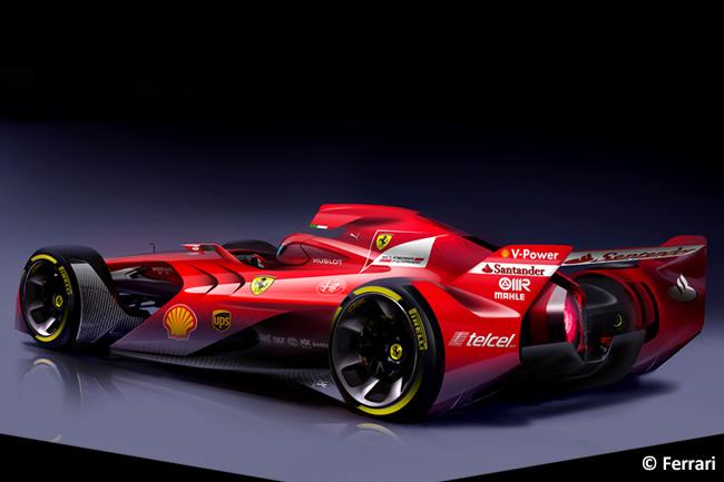 Scuderia Ferrari - Ferrari Concept - F1 - Futuro 2015