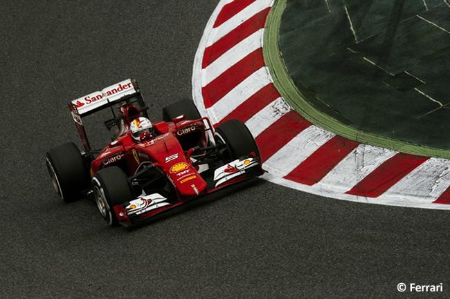 Sebastian Vettel - Ferrari - Pretemporada 2015 - Día 3 Barcelona