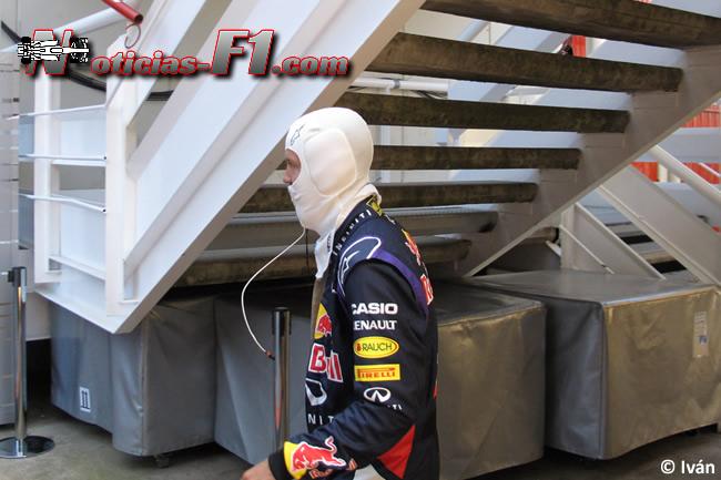 Sebastian  Vettel - Red Bull - Sotocasco