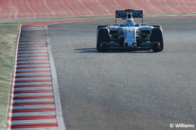 Susie Wolff - Williams  - Test - Pretemporada 2015 - Día 1 - Barcelona