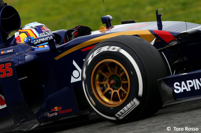 Carlos Sainz Jr - Toro Rosso - Test - Temporada 2015 - Pretemporada - Jerez - Día 3