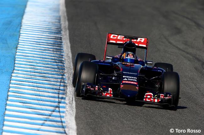 Toro Rosso - Carlos Sainz Jr - Día 1- Test Jerez - STR10