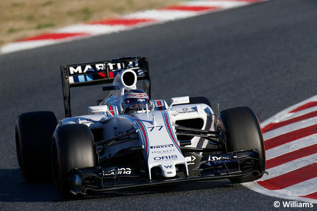 Valtteri Bottas - Williams - Test Barcelona Pretemporada 2015 - Día 4