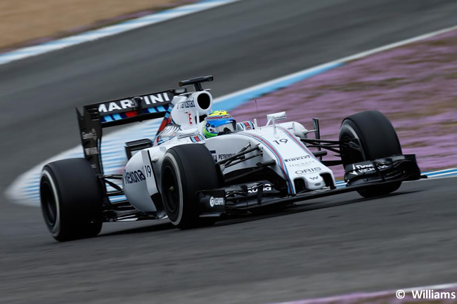 Williams - Felipe Massa - Test Jerez - Pretemporada 2015 - Día 3
