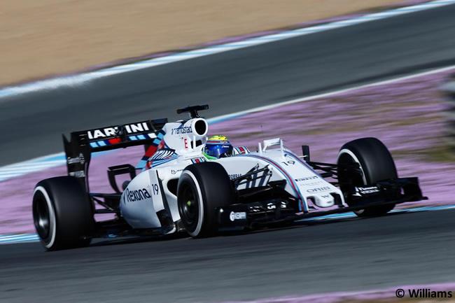 Williams - Felipe Massa - FW37 - Día 4 - Test Jerez  Pretemporada 2015