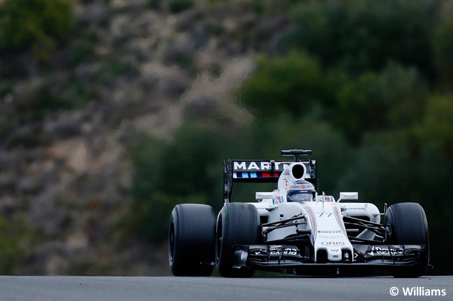 Valtteri Bottas - Williams - FW37 - Día 2 - Test Jerez