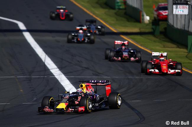 Daniel Ricciardo - Red Bull Racing - RB11 - Domingo Gran Premio de Australia 2015