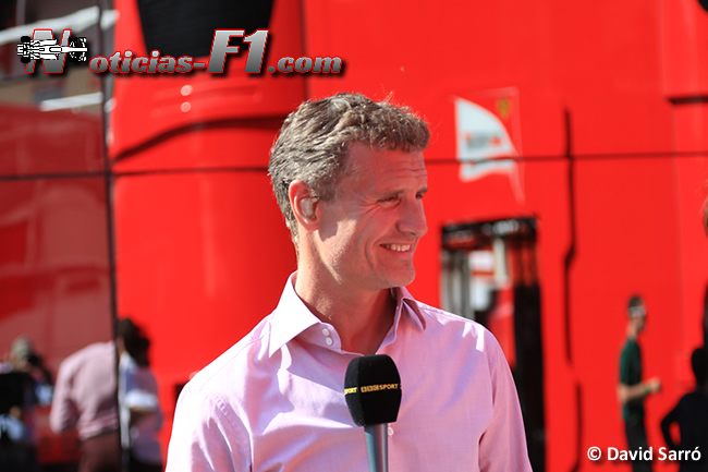 David Coulthard - David Sarró - www.noticias-f1.com