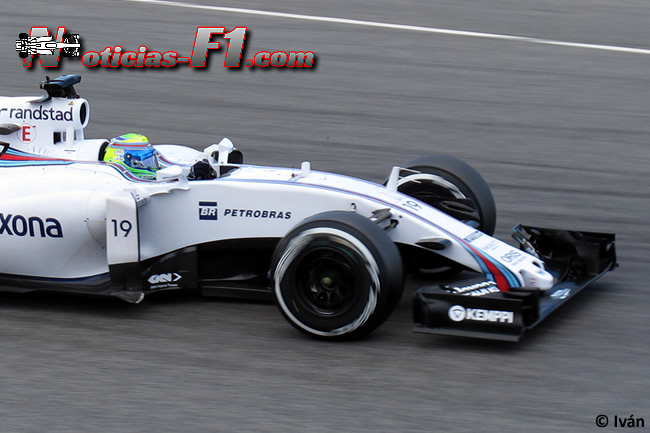Felipe Massa - Williams - FW37 - 2015 - www.noticias-f1.com