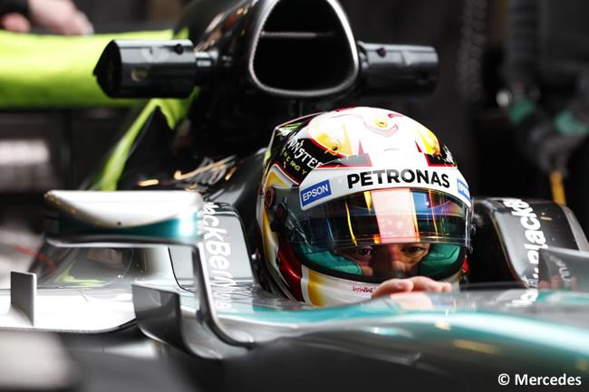 Lewis Hamilton - Mercedes - Día 3- Test Barcelona 2 - Pretemporada 2015 - F1