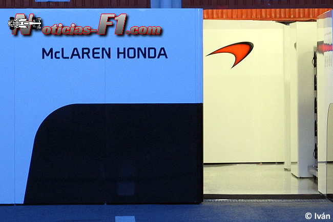 Logo McLaren - Honda - 2015