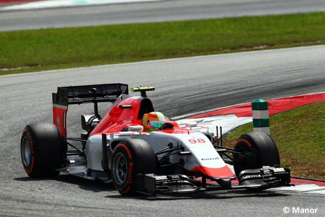 Manor - Roberto Merhi - Gran Premio de Malasia - Domingo - 2015