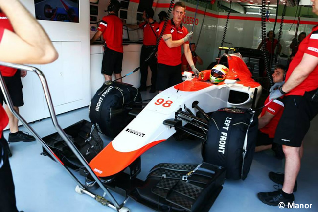 Manor - GP Malasia - Roberto Merhi