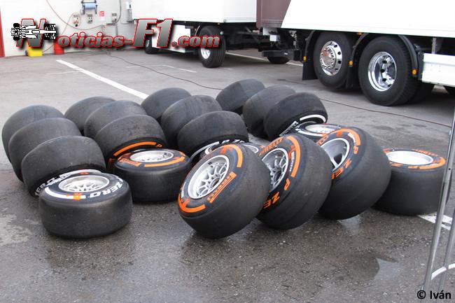 Neumáticos - Pirelli - Duro - Medio - www.noticias-f1.com