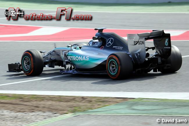 Nico Rosberg - Mercedes - F1 W06 - David Sarró - www.noticias-f1.com