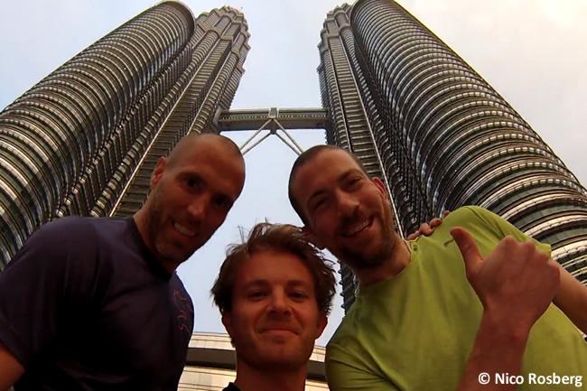 Nico Rosberg - Torres Petronas 2015 - Malasia