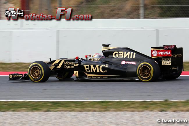Pastor Maldonado - Lotus - David Sarró - E23 - www.noticias-f1.com 2015