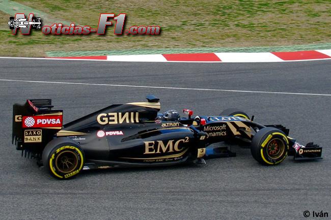 Romain Grosjean - Lotus - E23 - 2015 - www.noticias-f1.com
