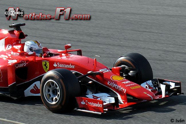 Sebastian Vettel - Scuderia Ferrari - SF15-T - 2015 -www.noticias-f1.com