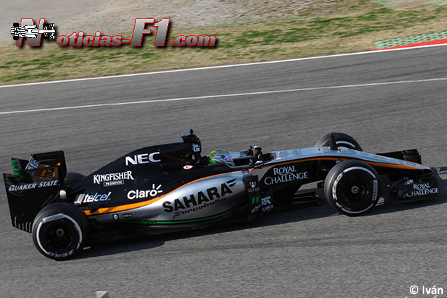 Sergio Pérez - VJM08 - Force India - 2015- www.noticias-f1.com