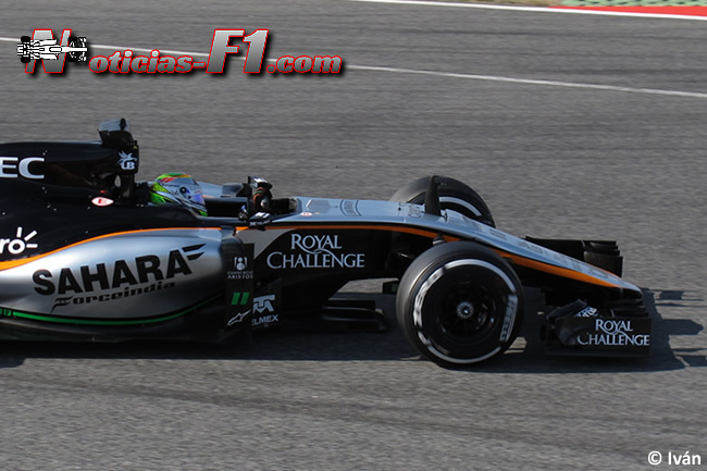 Sergio Pérez - Force India - VJM08 - 2015 - www.noticias-f1.com