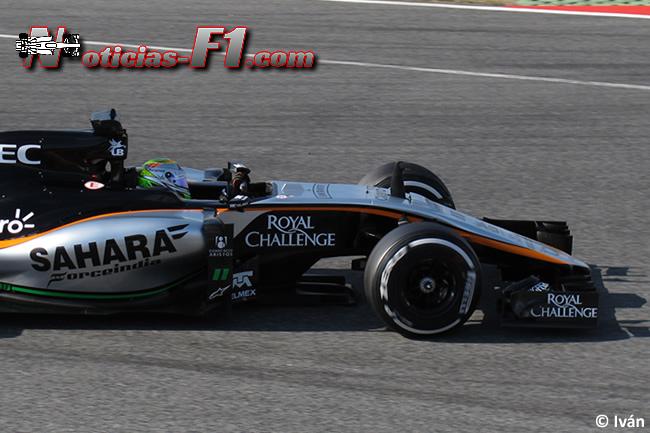 Sergio Pérez - Force India - VJM08 - 2015 - www.noticias-f1.com