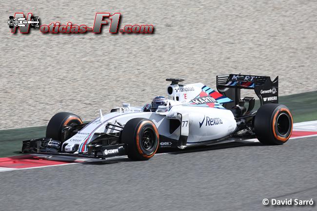 Valtteri Bottas - Williams - FW37 - David Sarró - 2015 - www.noticias-f1.com