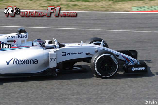 Valtteri Bottas - Williams 2015 - FW37 - www.noticias-f1.com