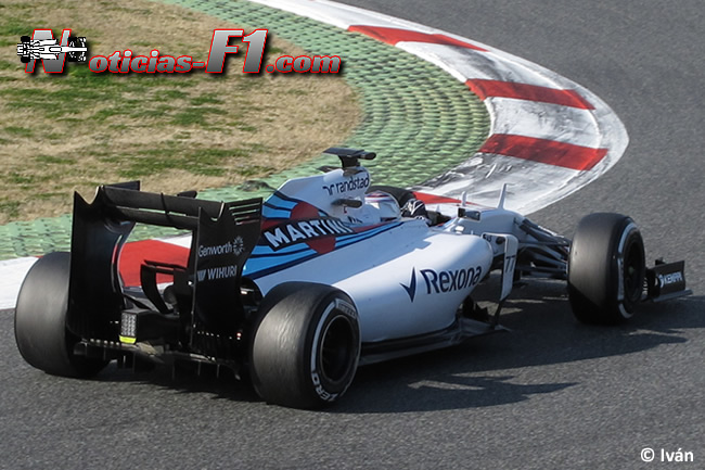 Valtteri Bottas - Williams - Día 4 - Test Barcelona 2 - Pretemporada 2015 - F1