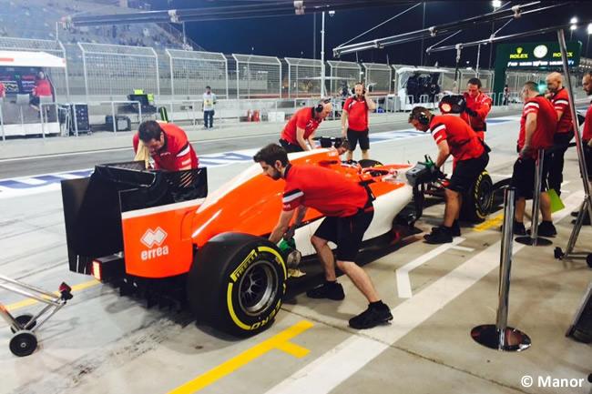 Will Stevens - Manor - Gran Premio de Bahréin 2015 - Viernes