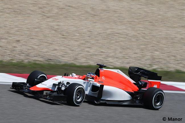 Gran Premio de China - Manor - Roberto Merhi