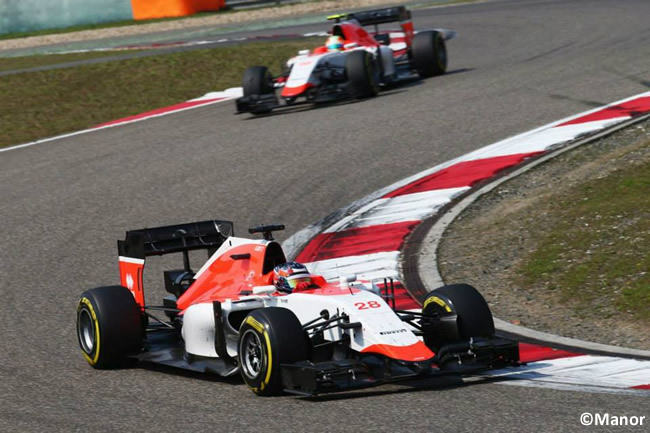 Gran Premio de China - 2015 - Manor - Roberto Merhi - Will Stevens