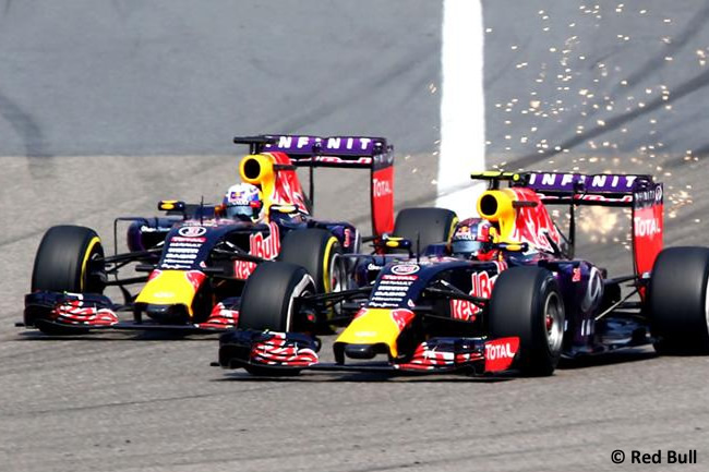 Gran Premio de China - Red Bull - Daniel Ricciardo - Daniil Kvyat