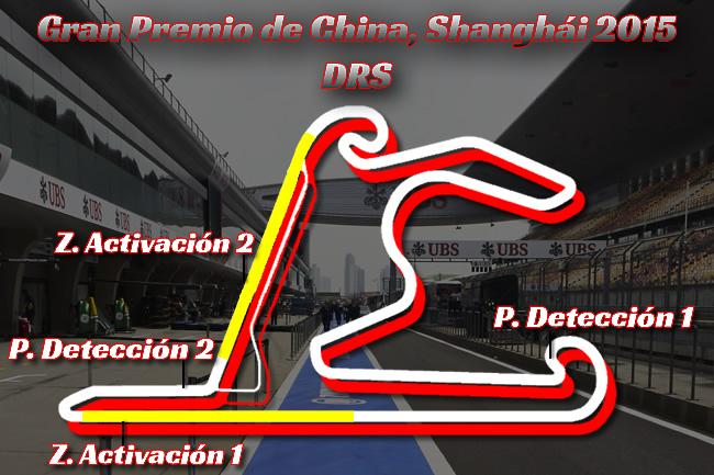 Gran Premio de China 2015 - DRS