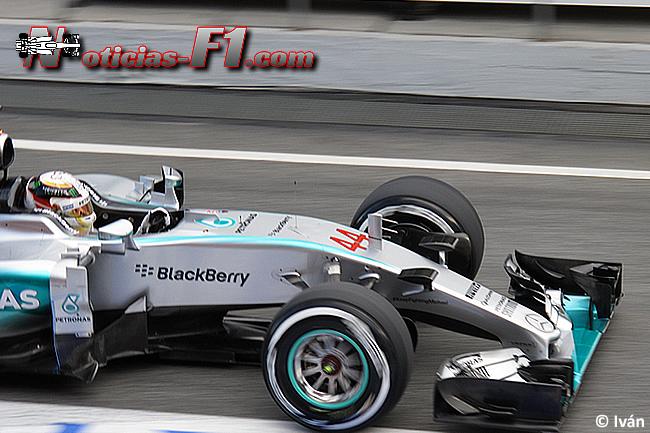 Lewis Hamilton - Mercedes - F1 W06 - www.noticias-f1.com