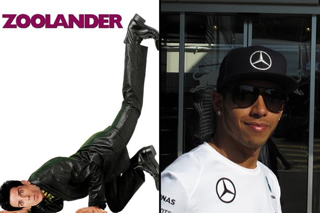 Lewis Hamilton - Zoolander 2