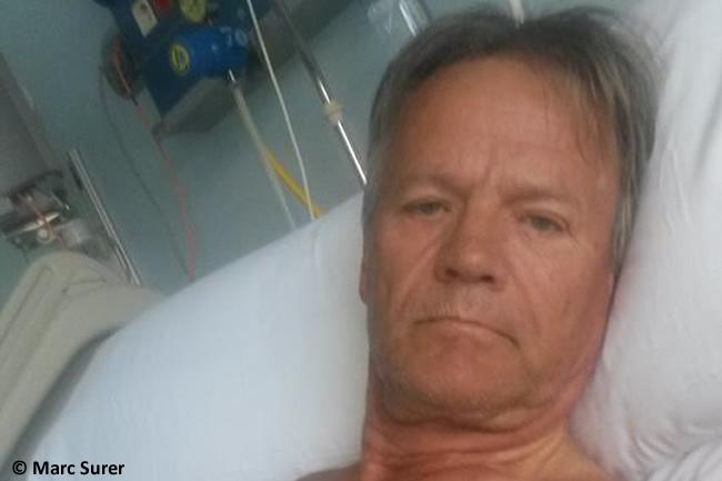 Accidente Caballo - Hopistal - Facebook - Marc Surer