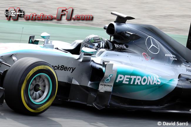 Nico Rosberg - Mercedes - F1 W086 - 2015 - David Sarró - www.noticias-f1.com